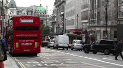 Piccadily Circus London 22 Stock Footage