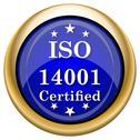 Iso14001 icon Stock Illustration