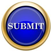 Submit icon Stock Illustration