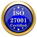 Iso 27001 icon Stock Illustration
