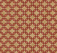 Red interlaced squares textured fabric background Stock Illustration