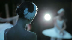woman dancing ballet - stock footage