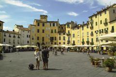 Lucca - stock photo