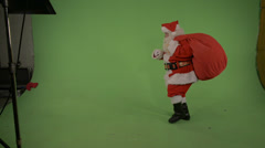 Santa Bag of Presents Stock Footage