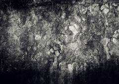 grunge dirty rock wall texture background - stock illustration