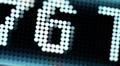 Stock market tickers digital data Footage