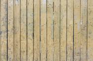 Stock Photo of Yellow Wooden Plank