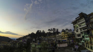 Stock Video Footage of Mcleod ganj sunrise time lapse