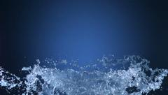 Water splash, Slow Motion - stock footage