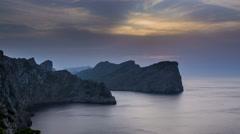 Mallorca Cap Formentor Boats 4K Stock Footage