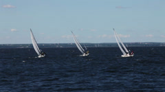 Sailing race Stock Footage
