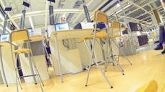 Business interior Stock Footage