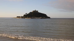 St Michael's Mount Cornwall England Stock Footage