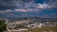 Nazareth timelapse 0913 1 Stock Footage
