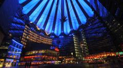 Berlin Potsdamer Platz - stock footage