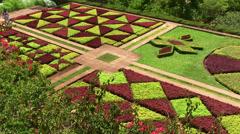 Botanic Garden, Monte, Madeira Stock Footage