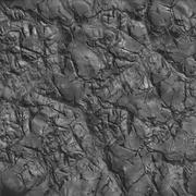 Coal Closeup. Seamless Tileable Texture. - stock photo