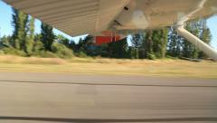 Airplane Taking Off Stock Footage