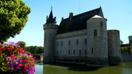 Stock Video Footage of Chateau de Sully-sur-Loire (1) - Sully sur Loire, France