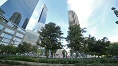 Columbus Circle in New York Stock Footage