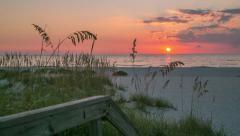 Florida Beach timelapse Stock Footage