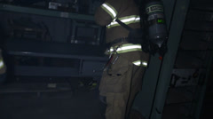 Fireman Rescue 2 Stock Footage