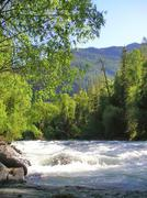 Altai river Stock Photos