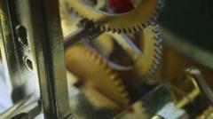 steampunk steam punk clockwork clock jules verne 1 - stock footage