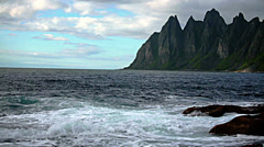 Senja island,Norway Stock Footage