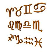 Zodiac sign Stock Illustration