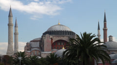 Hagia Sophia in Istanbul Turkey - stock footage