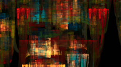 Abstract multicolored palette texture motion background seamless looping fractal - stock footage