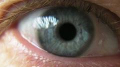 Blue Eye Stock Footage