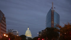 The US Capital Dome in Washington DC - stock footage