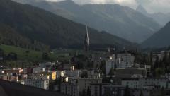 Davos,Switzerland Stock Footage