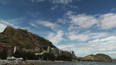 Stock Video Footage of Alicante Spain 101 beach