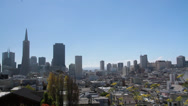 Stock Video Footage of San Francisco Skyline