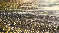 Beach Small Waves - stock footage