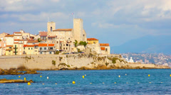 Antibes, south of France Stock Footage