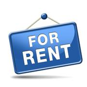 for rent sign - stock illustration