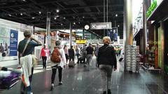 Schipol Airport Amsterdam 4 Stock Footage