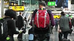 Schipol Airport Amsterdam 5 Stock Footage