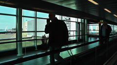 Schipol Airport Amsterdam 19 Stock Footage