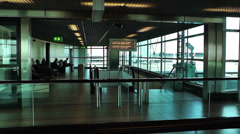 Schipol Airport Amsterdam 20 Stock Footage