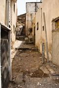 Traditional village in muscat, oman Stock Photos