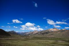 Tibet landscape Stock Photos