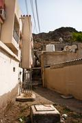 traditional village in muscat, oman - stock photo