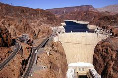 Hooverin pato, Lake Mead ja Colorado-joki Kuvituskuvat