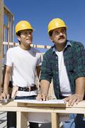 Stock Photo of Architects Working At A Construction Site