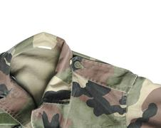 Soldier cloth Stock Photos